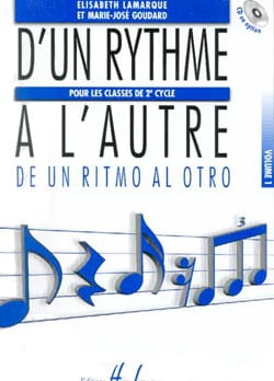 Elisabeth LAMARQUE et Marie-José GOUDARD - From One Rhythm to another - Volume 1 - Sheet Music - di-arezzo.co.uk