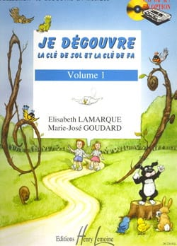 Elisabeth LAMARQUE et Marie-José GOUDARD - I discover the key to Sol and Fa - Volume 1 - Sheet Music - di-arezzo.com