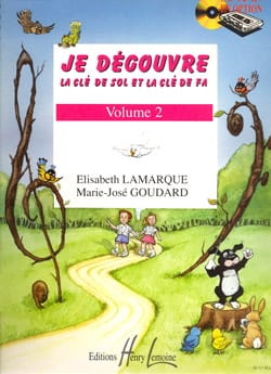 Elisabeth LAMARQUE et Marie-José GOUDARD - I discover the key to Sol and Fa - Volume 2 - Sheet Music - di-arezzo.co.uk