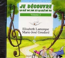 Elisabeth LAMARQUE et Marie-José GOUDARD - CD - I discover Key Sol and Fa Volume 3 - Sheet Music - di-arezzo.co.uk