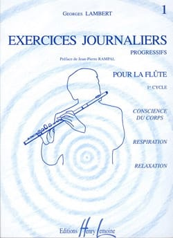Georges Lambert - Exercices Journaliers Volume 1 - Partition - di-arezzo.fr