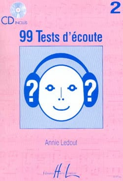99 Tests D'écoute Volume 2 Annie Ledout Partition laflutedepan