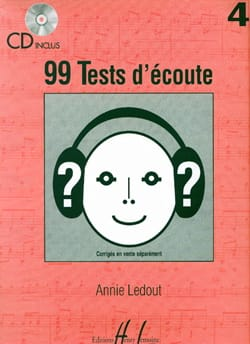 Annie Ledout - 99 Tests D'écoute Volume 4 - Partition - di-arezzo.fr