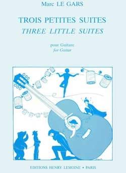 3 Petites suites - Gars Marc Le - Partition - laflutedepan.com