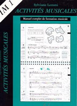 Sylviane Lemmi - Musical activities - IM1 - Sheet Music - di-arezzo.com