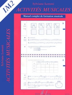 Sylviane Lemmi - Musical activities - Im2 - Sheet Music - di-arezzo.com