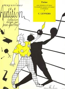 C. Lenners - Poème - Clarinette (Ou Saxophone Sop. ) et Vibraphone - Partition - di-arezzo.fr