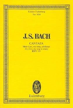 Johann Sebastian Bach - Mein Gott, wie lang, ach lange - Partition - di-arezzo.fr
