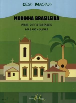 Modinha Brasileira Celso Machado Partition Guitare - laflutedepan