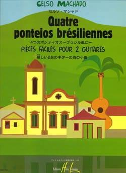 4 Ponteios brésiliennes - Celso Machado - Partition - laflutedepan.com