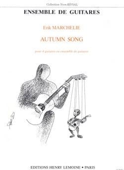 Autumn Song - 4 Guitares Erik Marchelie Partition laflutedepan
