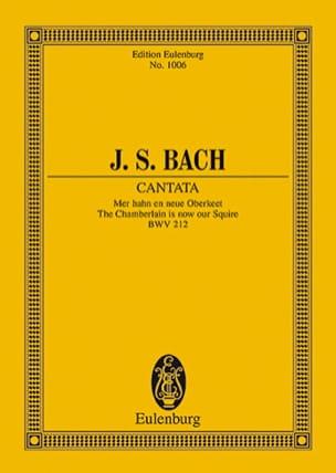 BACH - Cantata Mer Hahn En Neue Oberket BWV 212 - Partition - di-arezzo.fr