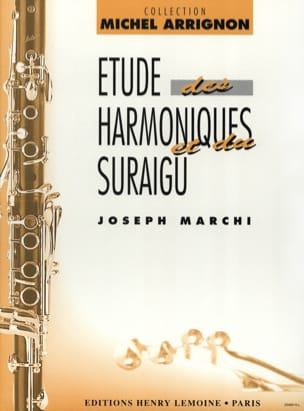 Joseph Marchi - Harmonic and high-frequency studies - Sheet Music - di-arezzo.com