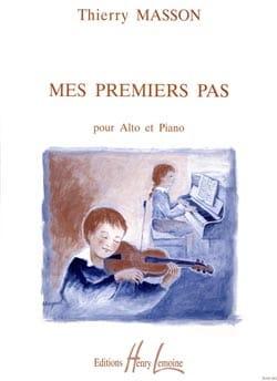 Thierry Masson - Mes premiers pas - Alto - Partition - di-arezzo.fr