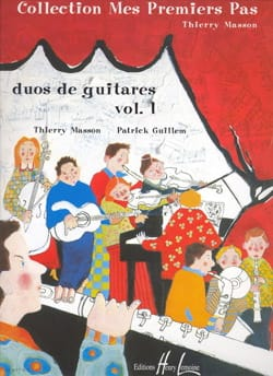 Masson Thierry / Guillem Patrick - Duos de guitares – Volume 1 - Partition - di-arezzo.fr