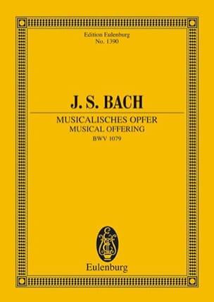 Musicalisches Opfer - BACH - Partition - laflutedepan.com