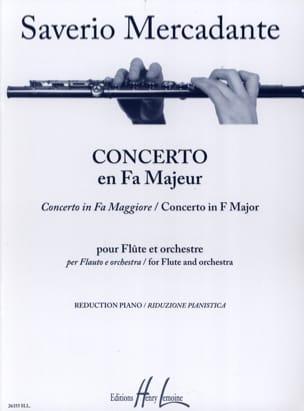 Saverio Mercadante - Concerto en Fa Majeur - Partition - di-arezzo.fr