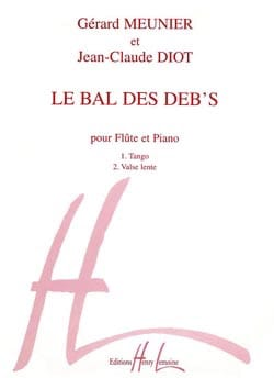 Meunier Gérard / Diot Jean-Claude - Ball of debits - Sheet Music - di-arezzo.co.uk