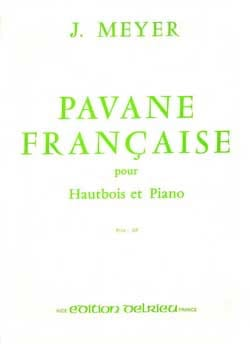 Jean Meyer - French Pavane - Sheet Music - di-arezzo.com
