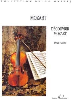 Mozart Wolfgang Amadeus / Garlej Bruno - Descubre Mozart - 2 violines - Partitura - di-arezzo.es