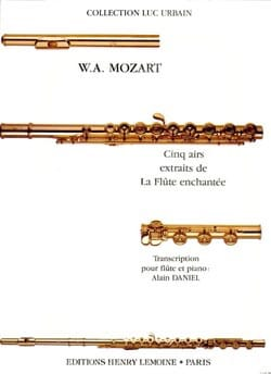 MOZART - 5 Tunes from The Magic Flute - Piano Flute - Sheet Music - di-arezzo.co.uk