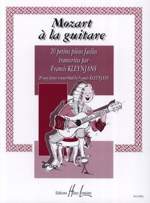 MOZART - Mozart à la Guitare Kleynjans - Partition - di-arezzo.fr