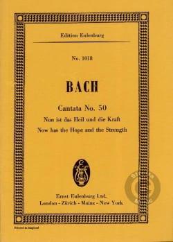 Johann Sebastian Bach - Cantata Nun Ist Das Heil Und Die Kraft Bwv 50 - Partition - di-arezzo.fr