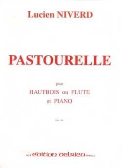 Pastourelle Lucien Niverd Partition Hautbois - laflutedepan