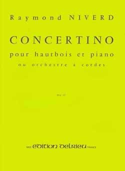 Raymond Niverd - Concertino pour hautbois - Partition - di-arezzo.fr