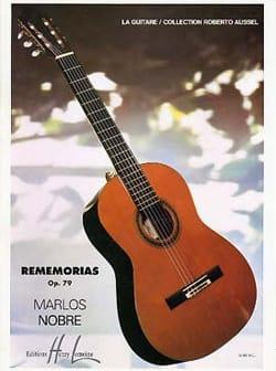 Marlos Nobre - Rememorias op. 79 - Partition - di-arezzo.fr