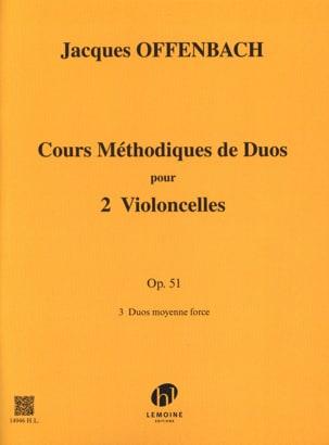 Jacques Offenbach - Cours Duos Vclles, op. 51 Liv. 3 - Sheet Music - di-arezzo.com