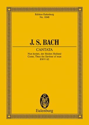 Johann Sebastian Bach - Cantate Nun Komm, Der Heiden Heiland, BWV 62 - Partition - di-arezzo.fr