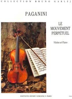 Niccolò Paganini - Mouvement Perpétuel op. 11 n° 6 - Partition - di-arezzo.fr