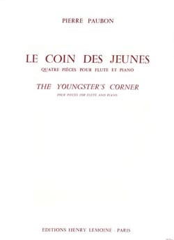 Pierre Paubon - The youth corner - Sheet Music - di-arezzo.com