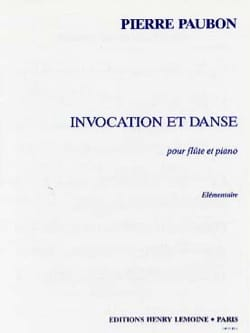 Pierre Paubon - Summoning and Dance - Sheet Music - di-arezzo.com
