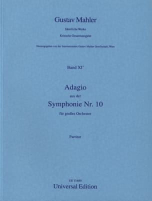 Gustav Mahler - Adagio aus der Symphony Nr. 10 - Partitur - Sheet Music - di-arezzo.co.uk