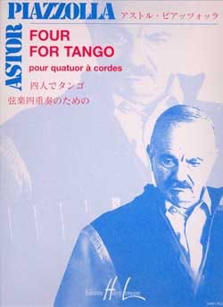 Astor Piazzolla - Four for Tango - String Quartet - Sheet Music - di-arezzo.co.uk