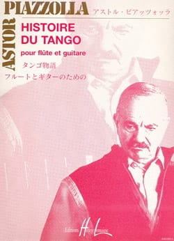 Astor Piazzolla - History of Tango - Flute - Sheet Music - di-arezzo.co.uk