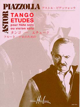 Astor Piazzolla - Tango-Etudes - Flute or Violin - Sheet Music - di-arezzo.co.uk