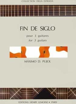 Maximo Diego Pujol - Fin de siglo - Partition - di-arezzo.fr