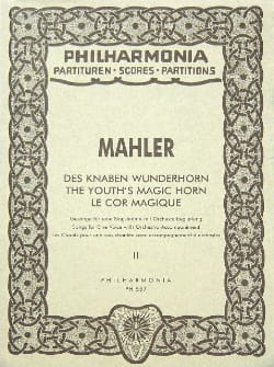 Gustav Mahler - Knoben Wunderhorn - Band 2 - Partitur - Sheet Music - di-arezzo.co.uk