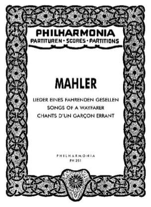 Gustav Mahler - Lieder eines fahrenden Gesellen - Partitur - Partition - di-arezzo.fr