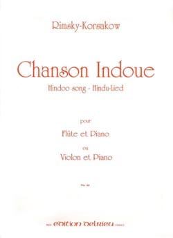 Nicolaï Rimsky-Korsakov - Hindu Song - Flute or Violin - Sheet Music - di-arezzo.co.uk