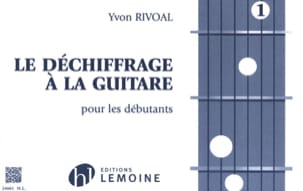 Yvon Rivoal - Deciphering the Guitar Volume 1 - Sheet Music - di-arezzo.com
