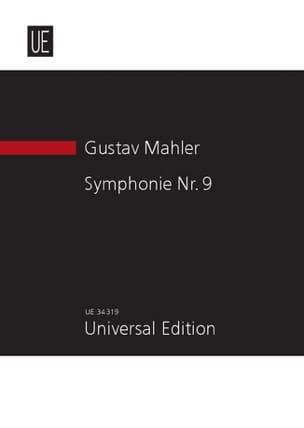 Gustav Mahler - Symphonie N° 9 – Partitur - Partition - di-arezzo.fr