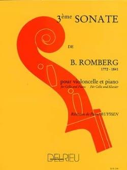 Bernhard Romberg - Sonata No. 3 in G major - Sheet Music - di-arezzo.com