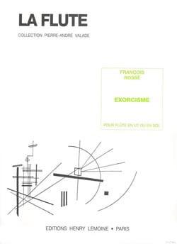 François Rossé - Exorcisme - Partition - di-arezzo.fr