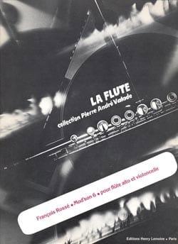 François Rossé - Mod'son 6 – Flûte alto et violoncelle - Partition - di-arezzo.fr