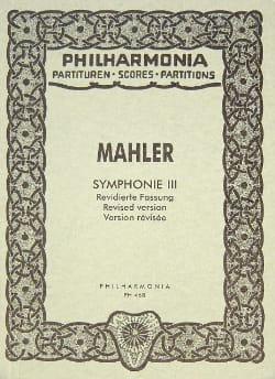 Gustav Mahler - Symphony Nr. 3 - Partitur - Sheet Music - di-arezzo.co.uk