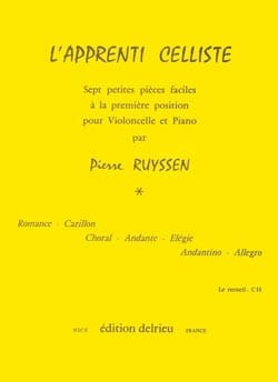 Pierre Ruyssen - L'apprenti Celliste - Partition - di-arezzo.fr